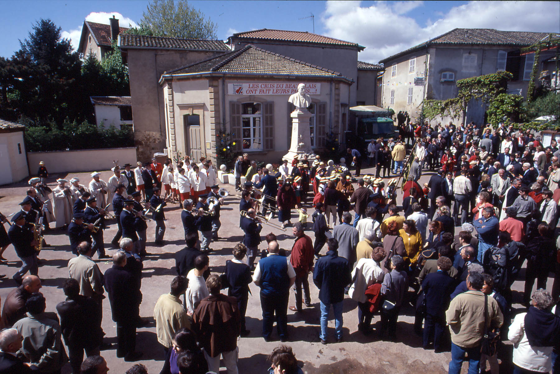 They've left their mark on history in the Beaujolais region