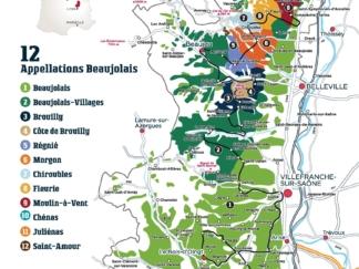 Carte Beaujolais A4 recto Français