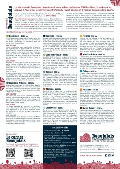Carte Beaujolais A4 verso