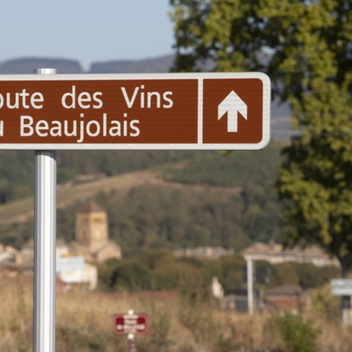 The Beaujolais Wine Route
