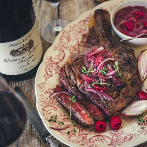 Food and beaujolais wines pairings
