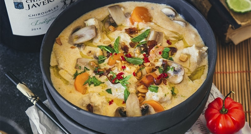 Thai-style veal blanquette
