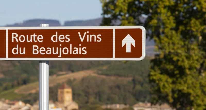 La route des vins du Beaujolais