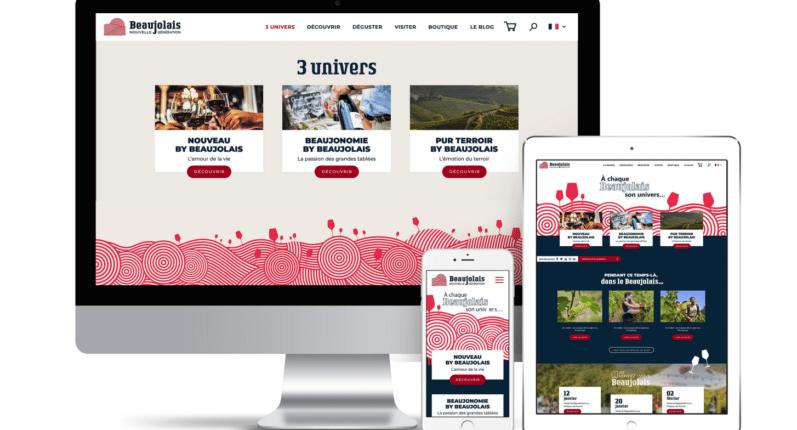 Un nouveau site internet pour les vins du Beaujolais