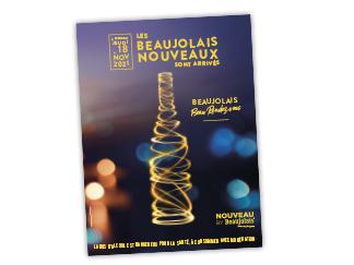 affiche beaujolais nouveaux 2021