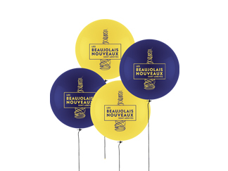 ballons beaujolais nouveaux 2021