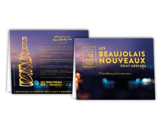 chevalet beaujolais nouveau 2021